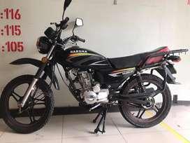 Moto  Barsha modelo BS 200 PERFECTO ESTADO