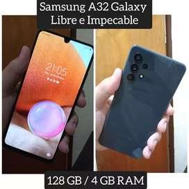 A32 Samsung Galaxy Libre e Impecable de 128 GB / 4 GB RAM