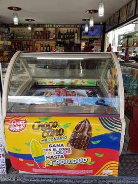 Nevera para helados marca Nibek