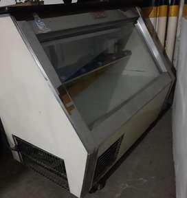 Refrigerador mostrador para negocio