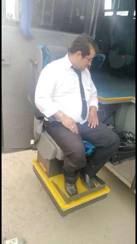 Plataforma para pasajeros discapacitados