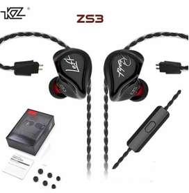 # Audífonos alámbricos KZ Zs3 Ref. Mj-0185