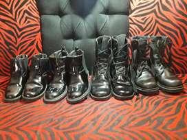 Se venden botas del colegio militar seminuevas