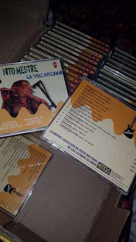 Vendo coleccion de cds de rock nacional.
