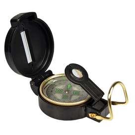 Brujula Lensatic Compass Estilo Militar Metal Camping