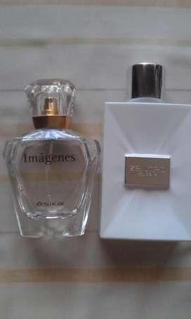 Lote 7 frascos envases Vacíos Colonia perfume D14