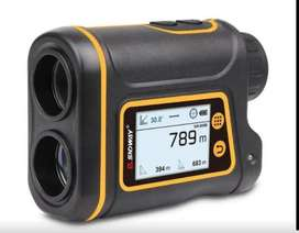 Monocular telémetro 1000m. SNDWAY medidor de distancia láser velocidad y ángulo.
