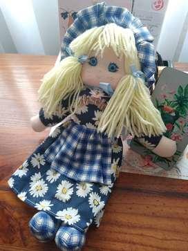Muñeca de Trapo DISELA original