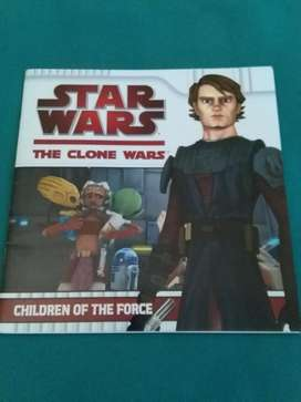 REVISTA STAR WARS THE CLONE WARS CHILDREN OF THE FORCE 2010 EN INGLES