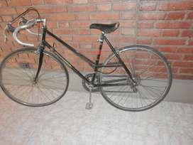 Bicicleta tipo carrera para dama