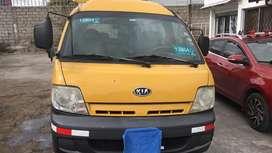 Vendo furgoneta Kia escolar con puesto