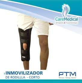 Inmovilizador De Rodillla Corto - PTM - Ortopedia Care Medical