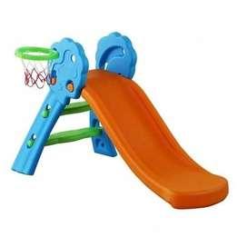 Resbaladera Para Niños Con Aro de Basket Aire Libre