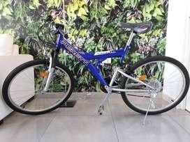 Vendo Bicicleta Rod 26 doble suspensión