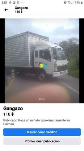 Gangazo  furgón sinotruk de la kemwork