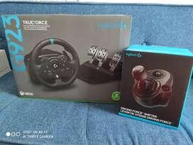 Timon + Pedales + palanca de cambios  LOGITECH G PC, XBOX ONE, S, X Gaming G923