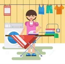 Necesito señorita o señora con experiencia en lavado y planchado de ropa para lavandería