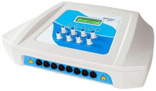 ELECTROESTIMULADOR TEKMEDICAL ISIS BI 16 electrodos  NUEVO 0