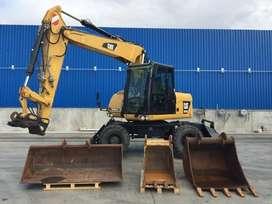 Excavadora sobre Ruedas Cat 313D 2013