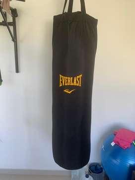 Saco de boxeo everlast 1.20 m 50kg