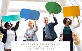 Tienes Dudas sobre su Seguridad Social? Dejanos asesorarte, comunicate con nosotros. LLAMANOS HOY