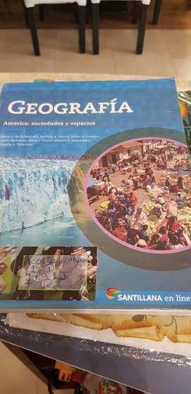 Libro Geografía 1er Año