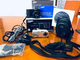 Camaras Samsung NV7 OPS y Sony Cyber-shot DSC-P100