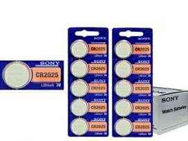 Sony Pila Cr2025 Litio 3v Usd 1 X 1u