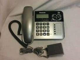 Teléfono Panasonic mesa altavoz identificador