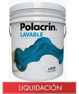 Pintura en Liquidacion OFERTA!!! Latex 20 , 10 y 4 lts