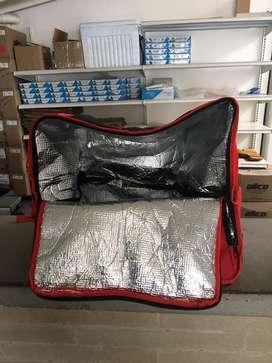 Maletin termico para transporte de alimentos.