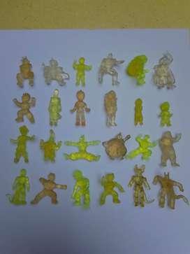 Colección completa de antiguas miniaturas de DBZ, bonas, años 90