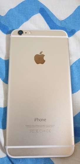 Vendo iphone 6 plus dorado  excelente estado