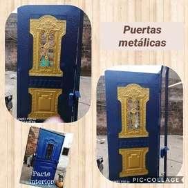 Venta de puertas metálicas