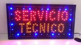 Anuncio LED Servicio Técnico