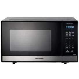 Horno Microondas Panasonic De 0.9 Pies 25 Litros Negro 900 W