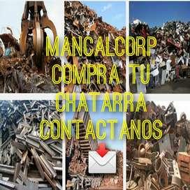 COMPRA DE CHATARRA FERROSA Y NO FERROSA ENTRE OTROS
