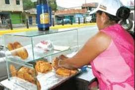 Busco vendedora de empanadas