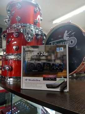Interfaz Studio 24c Presonus