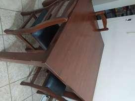 Vendo muebles y heladera usados, todo juntos o por separado