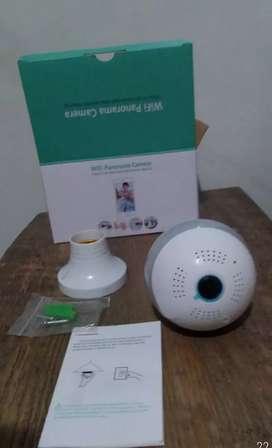 Camara wifi tipo bombillo 360 HD