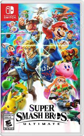 Super smash bros Nintendo switch Nuevo