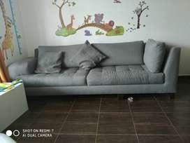 Sofás grandea, cómodos y acolchados