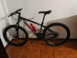 Bicicleta GTI rin 26 de aluminio