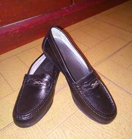 Zapatos mocasines, cuero, nuevos talla 36 Nuevos