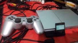 PLAY STATION 2 CON MEMORY CAR Y PENDRIVE DE 32 GIGAS