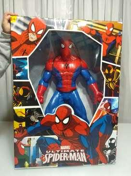 Spiderman en caucho articulado 55 cm totalmente en caja y nuevo
