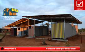VENTA DE CASAS RODANTES, BÚNKER Y ESTRUCTURAS