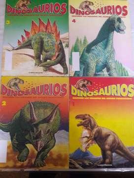 Colección De Revistas Dinosaurios 1 al 11 (falta el 9) Excelentes!!!