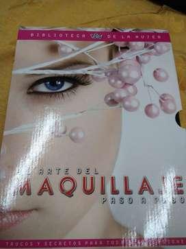 Vendo 3 tomos de libros de maquillaje